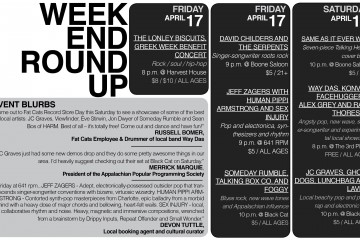 Infographic: Weekend Roundup – April 17-19