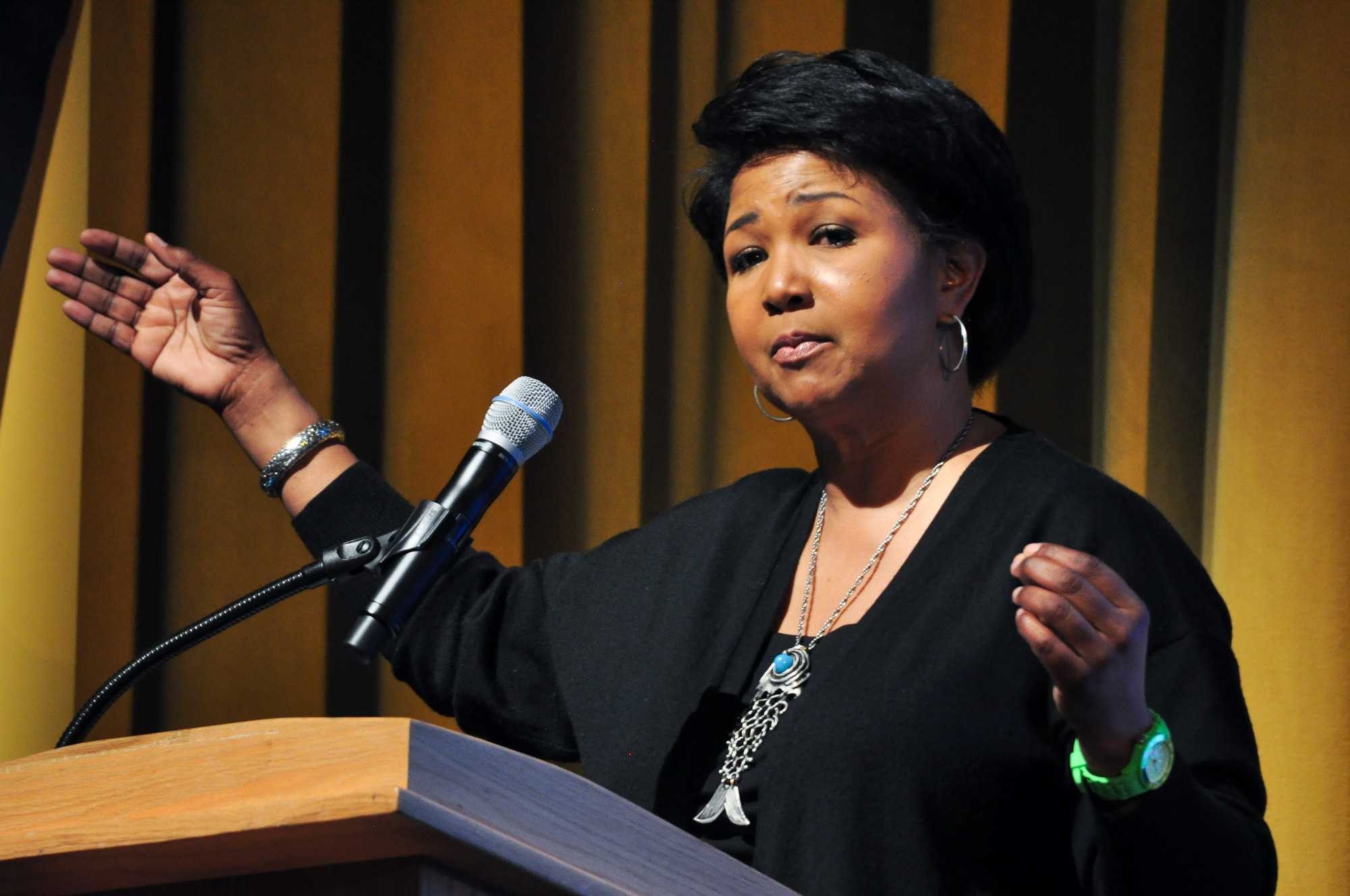First African American female astronaut speaks at ...