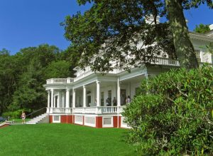 Blue Ridge views and historic architecture attract tourists to Moses Cone Park