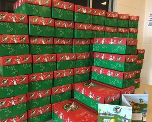 Operation Christmas Child aims to distribute its 168 millionth box in its 25th year