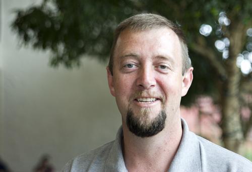 Eric Greer is the Appalachian State University's mechanical shop supervisor. Paul Heckert | The Appalachian