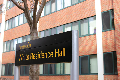 A student was found dead in White Residence Hall Wednesday afternoon. No foul play is expected. Paul Heckert | The Appalachian