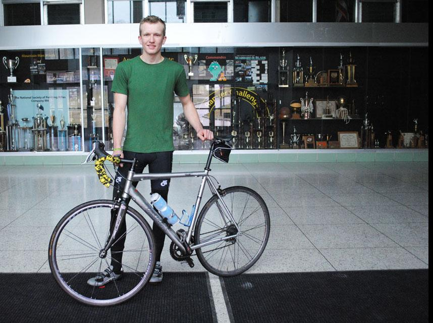 Appalachian student to bike across the country to promote sustainability