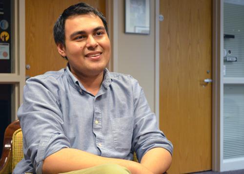 Club Council Chair Ish Gomez. Michael Bragg | The Appalachian
