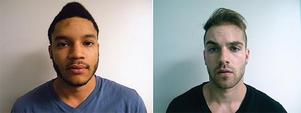 Jose Cuevas (left), David Weber (right) Photos courtesy of Boone Police