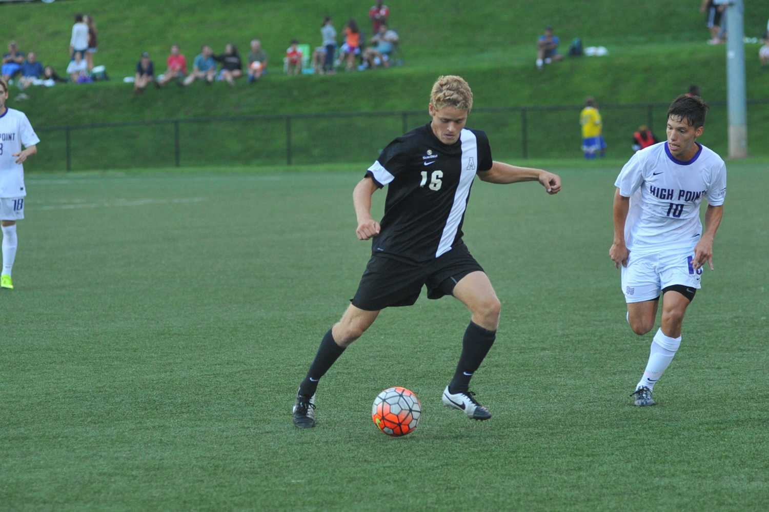 Men's soccer draws from local talent pool
