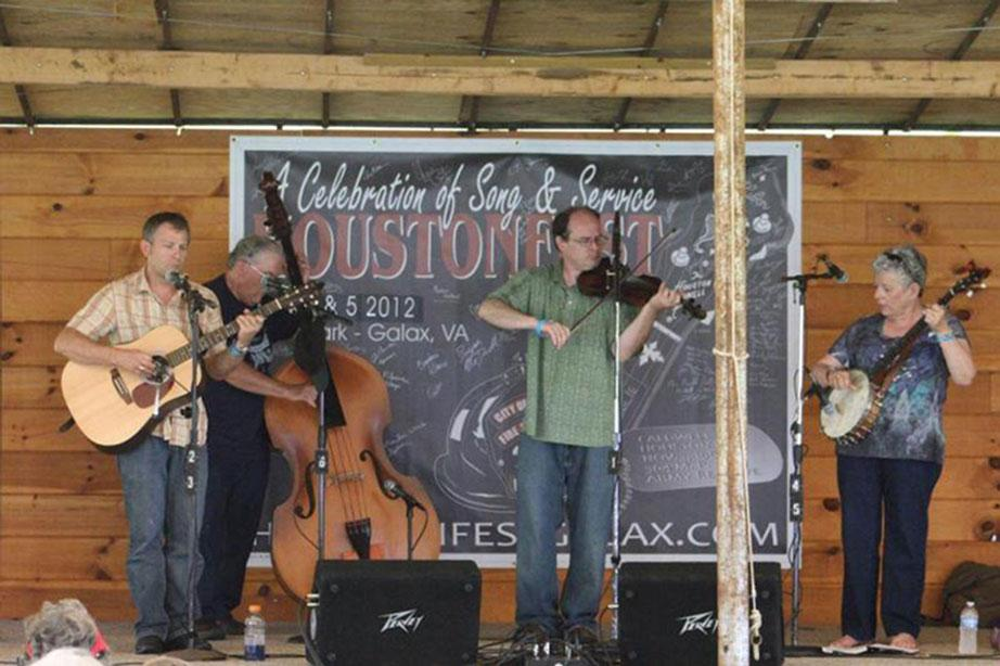 Zephyr Lightning Bolts bring old-time music to square dance