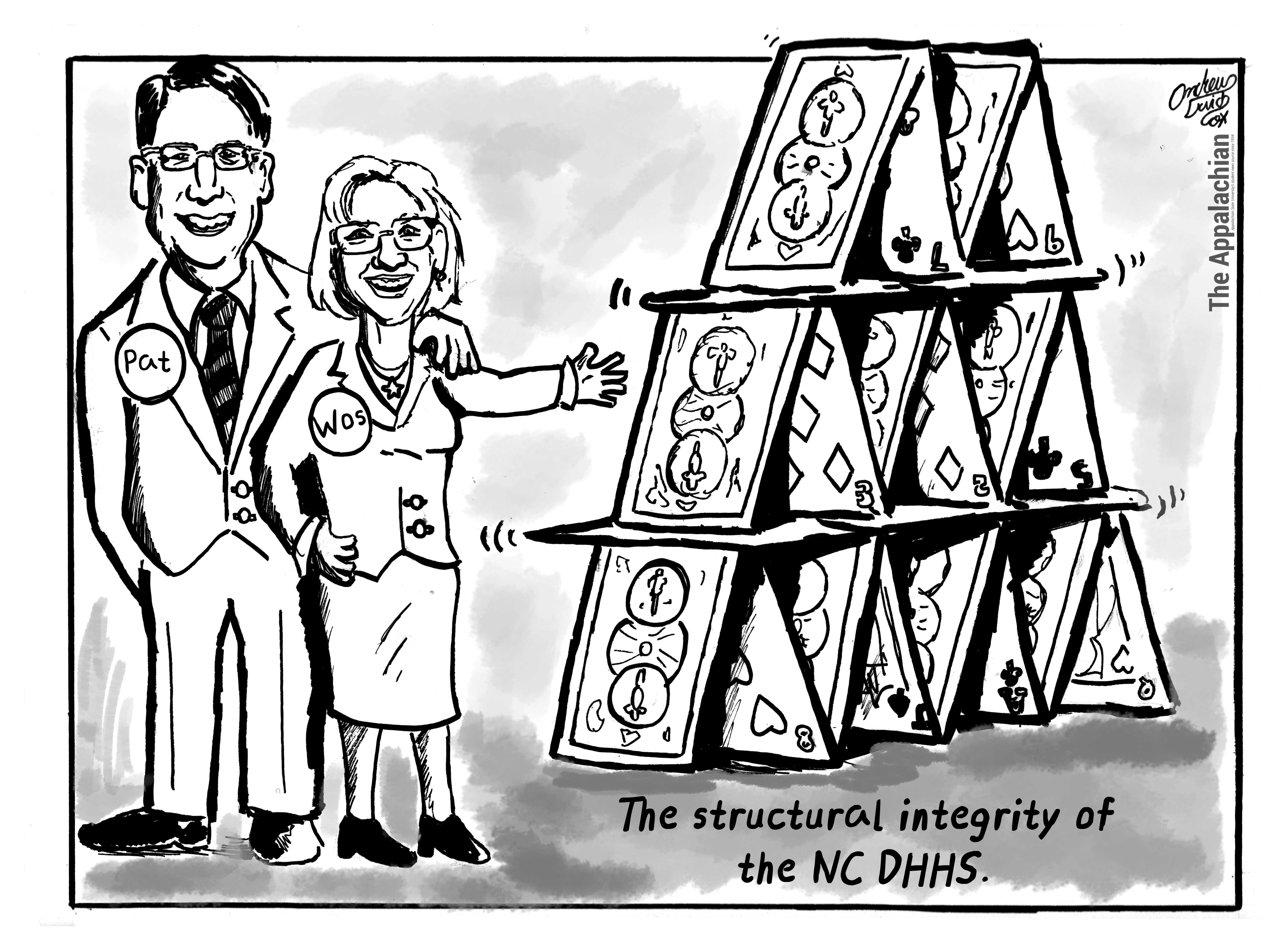NC DHHS becoming a house of cards under Wos