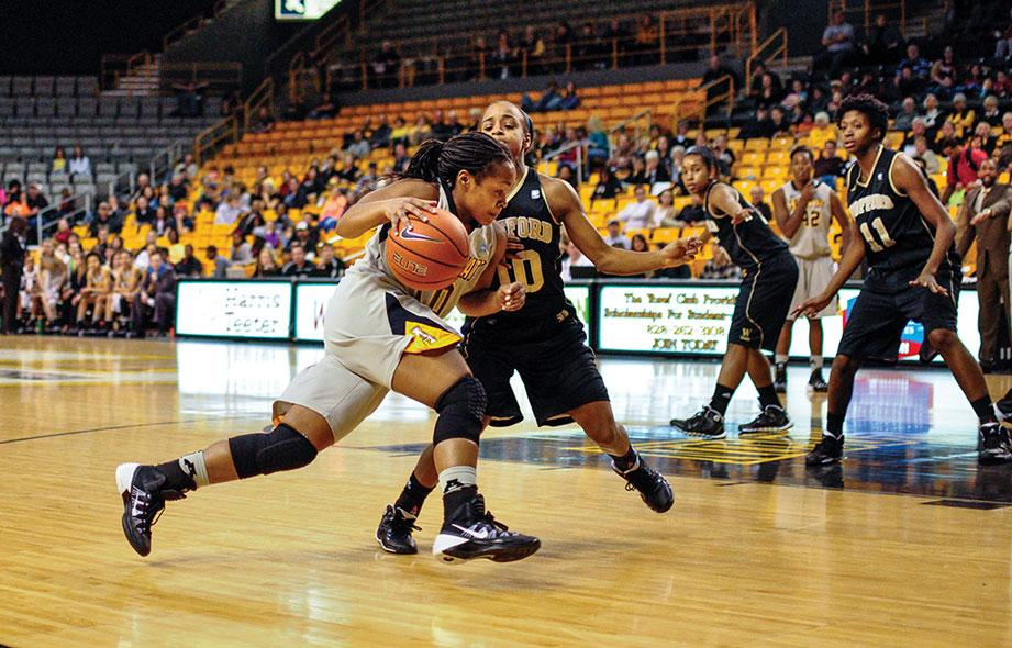 Women's basketball adds to Wofford's woes