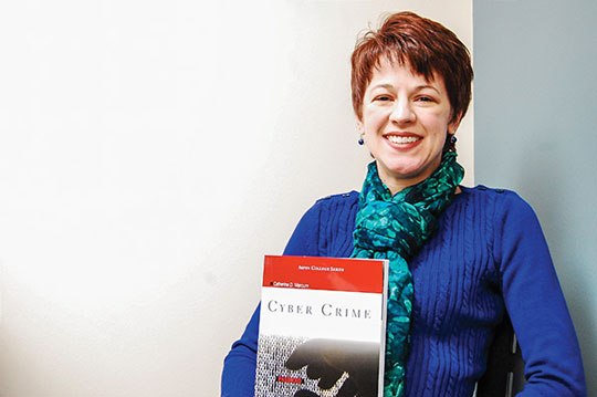 Assistant professor publishes book 'Cyber Crime'
