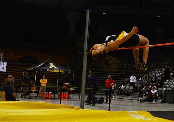 App State track and field coach, high jumper honored