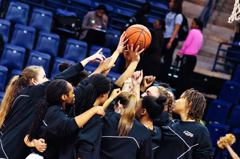 Women's basketball downed by Elon, eliminated from conference tournament
