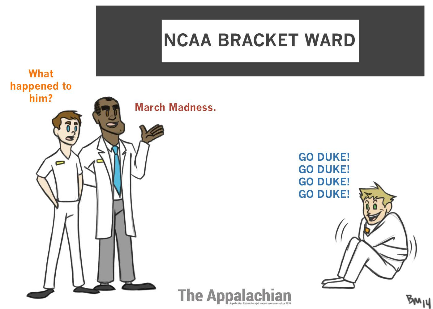 Some basketball fans this year suffer from 'March Madness'