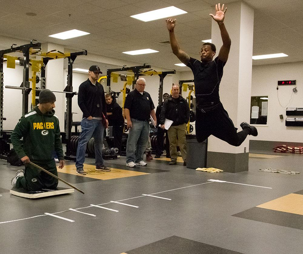Mountaineers showcase talent, skills at Pro Day workout