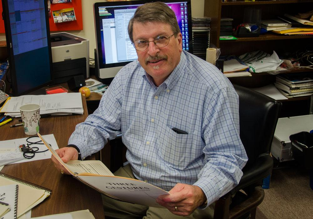 Professor and Steely Pan Band director retires after 40 years of service