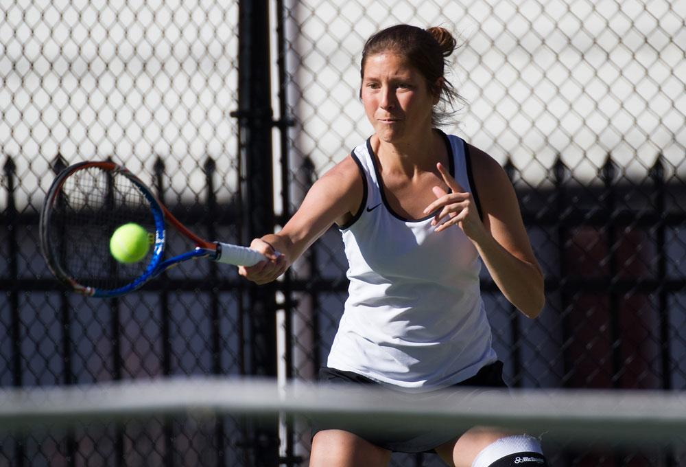 Women's tennis looks to Thaggard for leadership