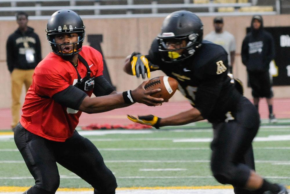 Appalachian State football showcases skills, progress at Spring Game