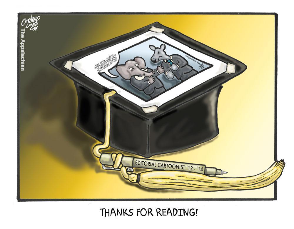 Senior Goodbye: Thanks for reading