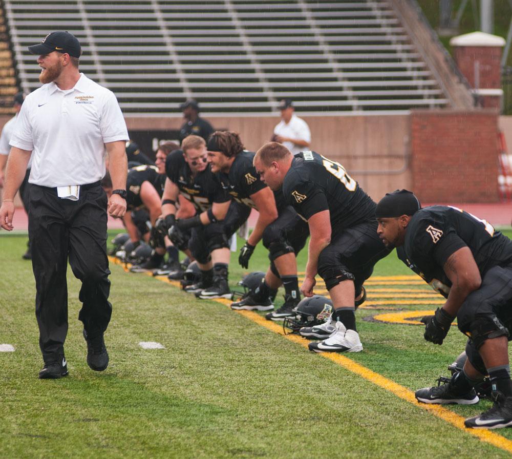 App State football focuses on defense in early bye week