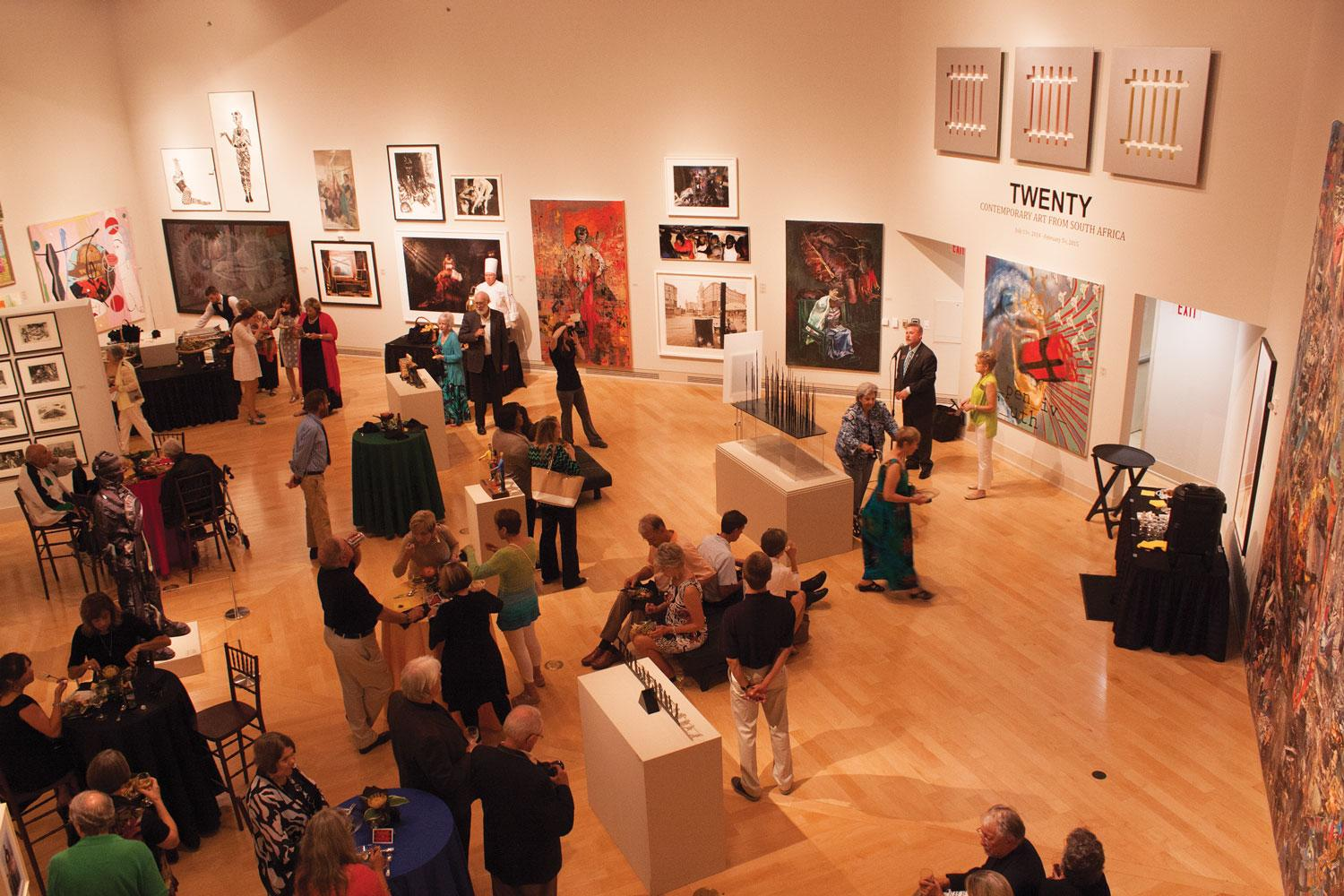 Turchin Center auction and celebration explores international out