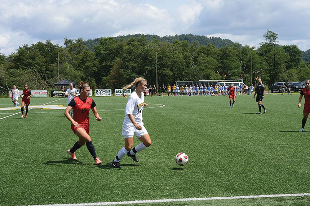 Confidence continues to build for App State women's soccer