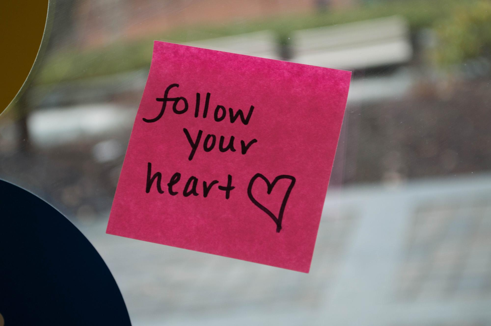 In Photos: Positive post-its