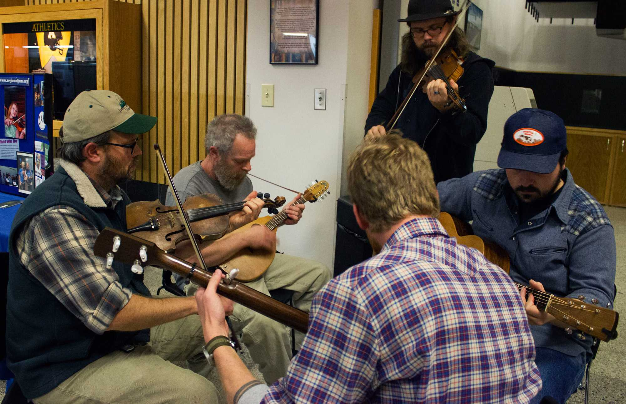 Appalachian Popular Programming Society's Appalachian Heritage Council's 2017 Fiddlers Convention. Photo by Maggie Davis