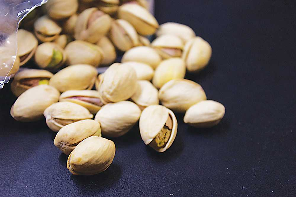 There was a research study done by a professor at App State that revealed the negative effects of pistachios on athletic performances and overall health. Photo by Halle Keighton  |  The Appalachian