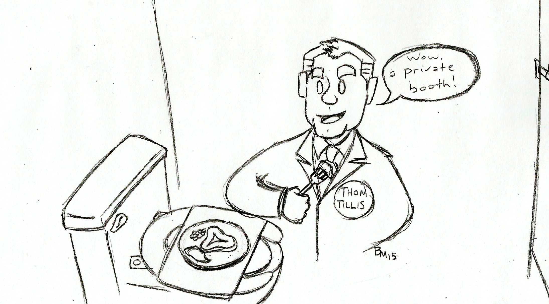 Cartoon: Thom Tillis