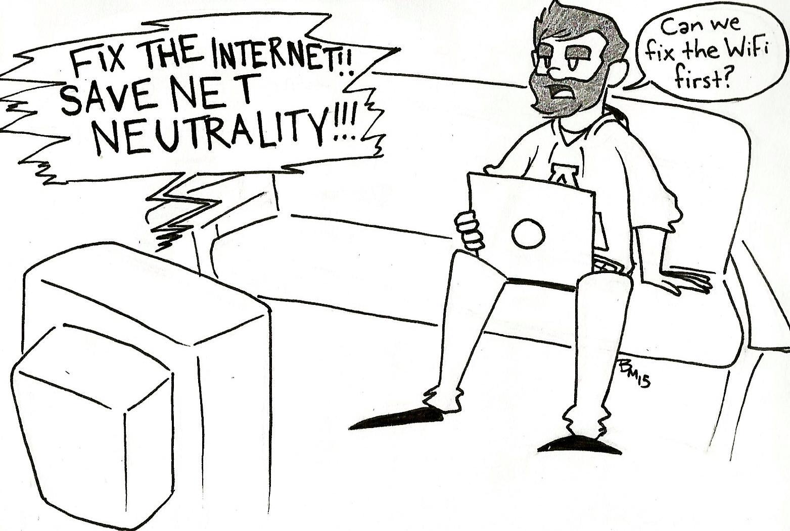 Cartoon: Net Neutrality
