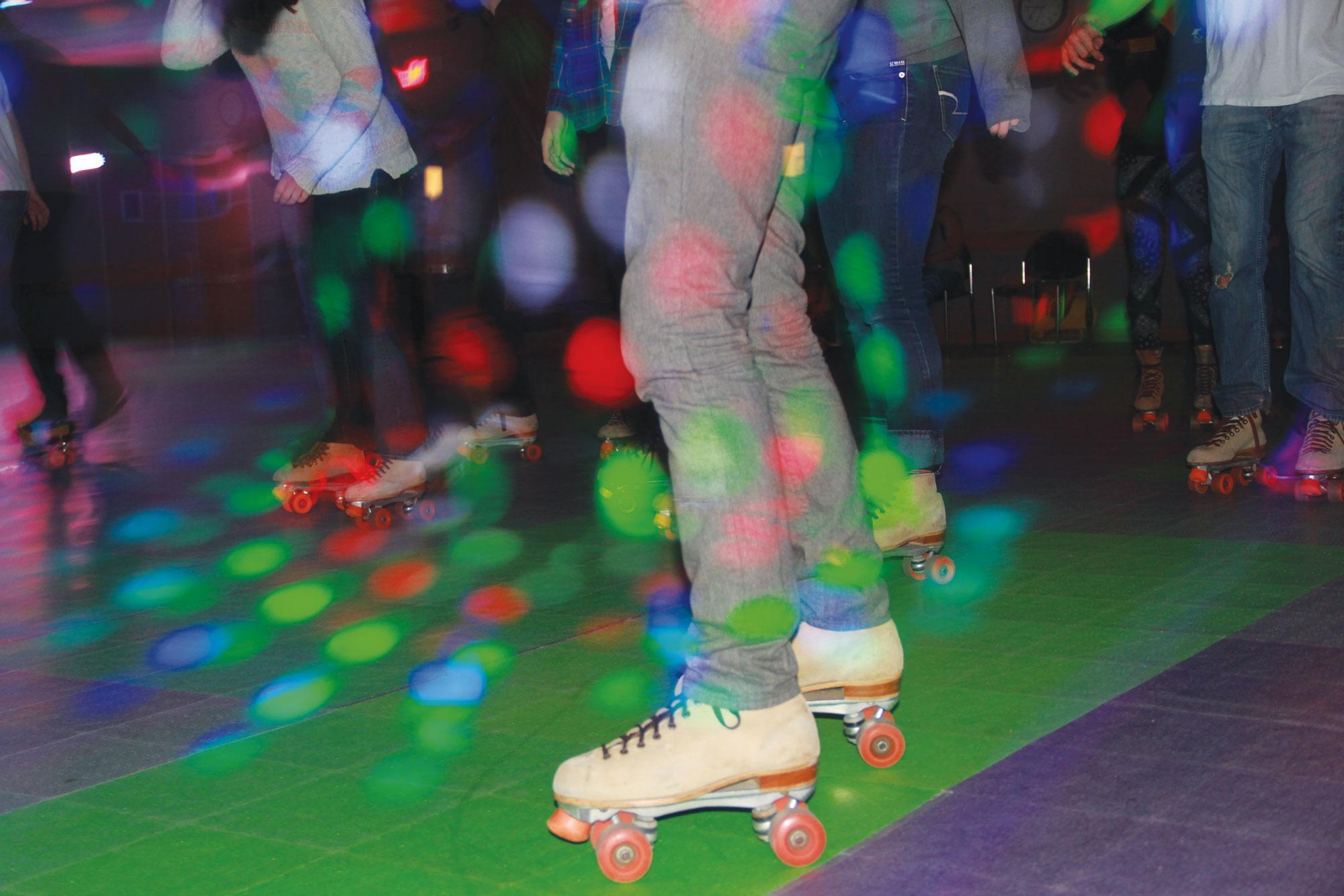 APPS hosts roller skating event