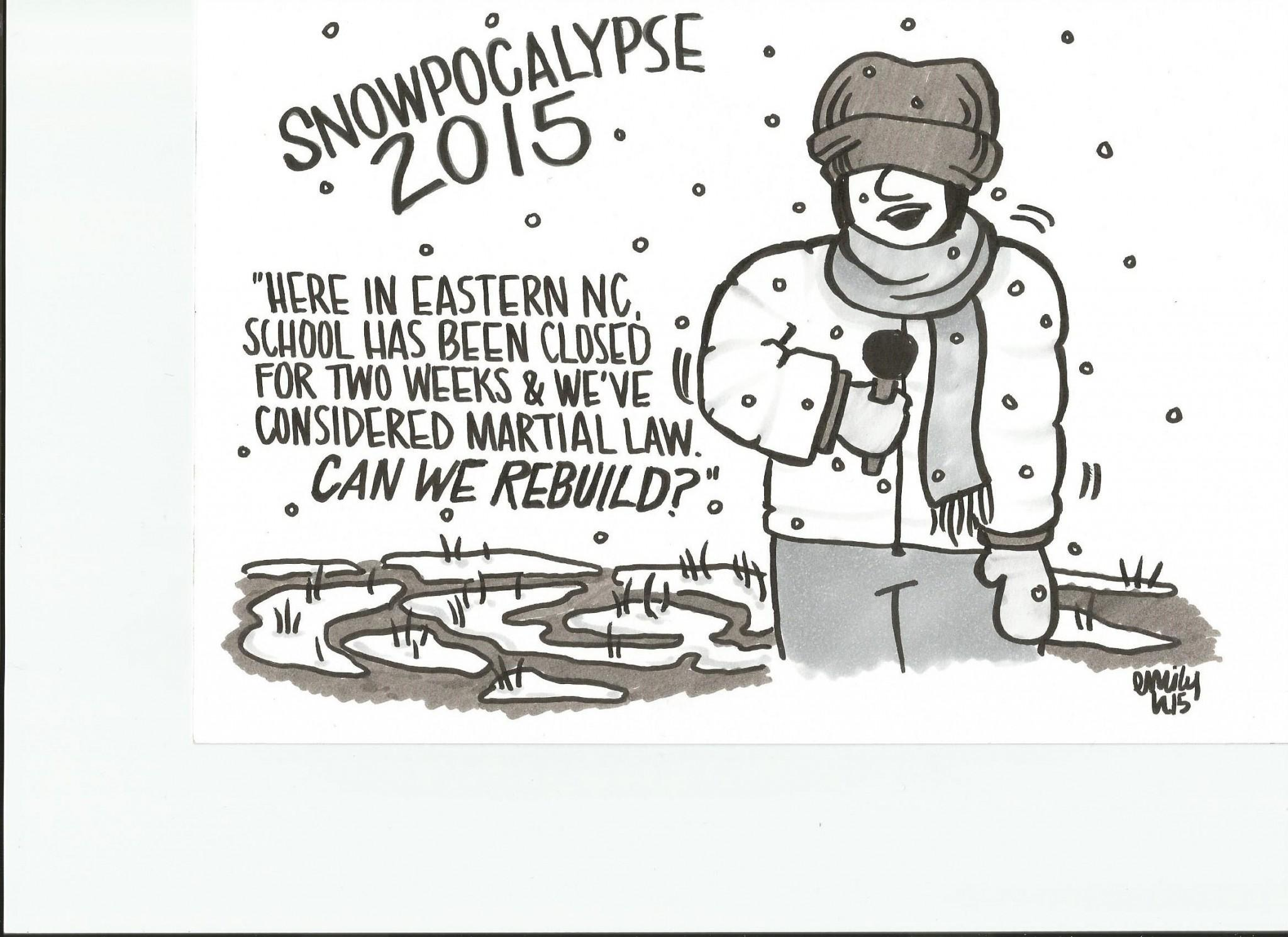 Cartoon: Snowpocalypse 2015