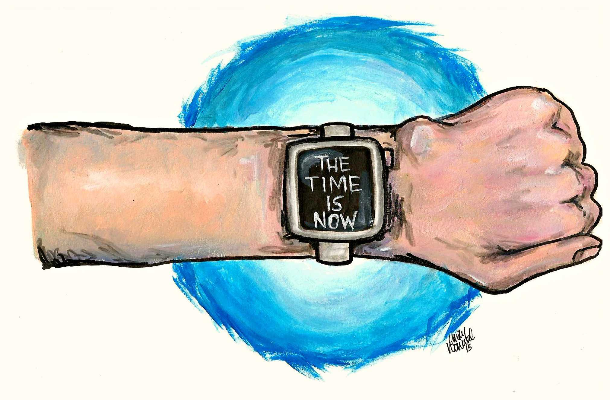 Cartoon: Wearable devices will become next tech trend