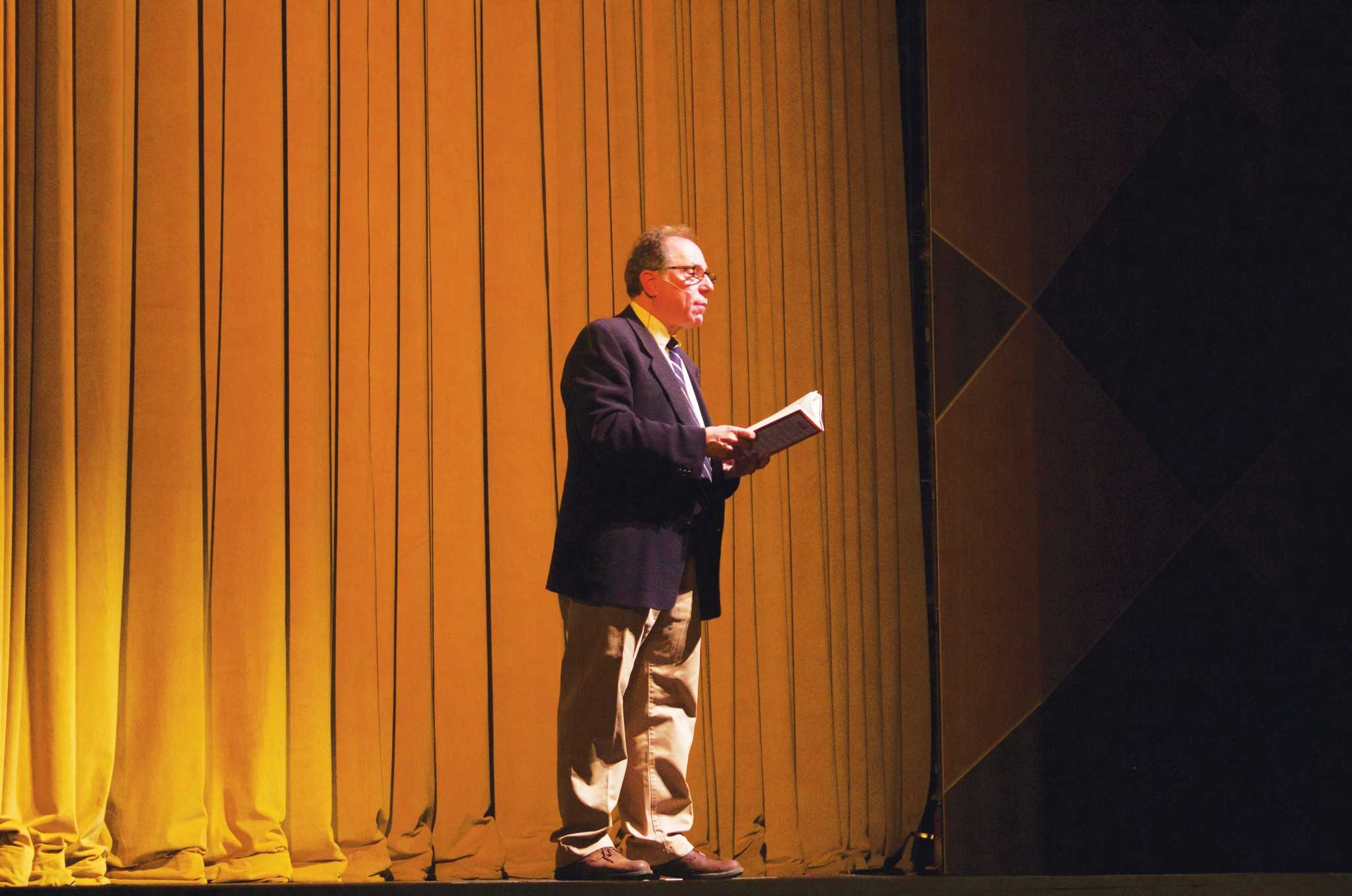 Michael Kimmel gave a lecture about his book,