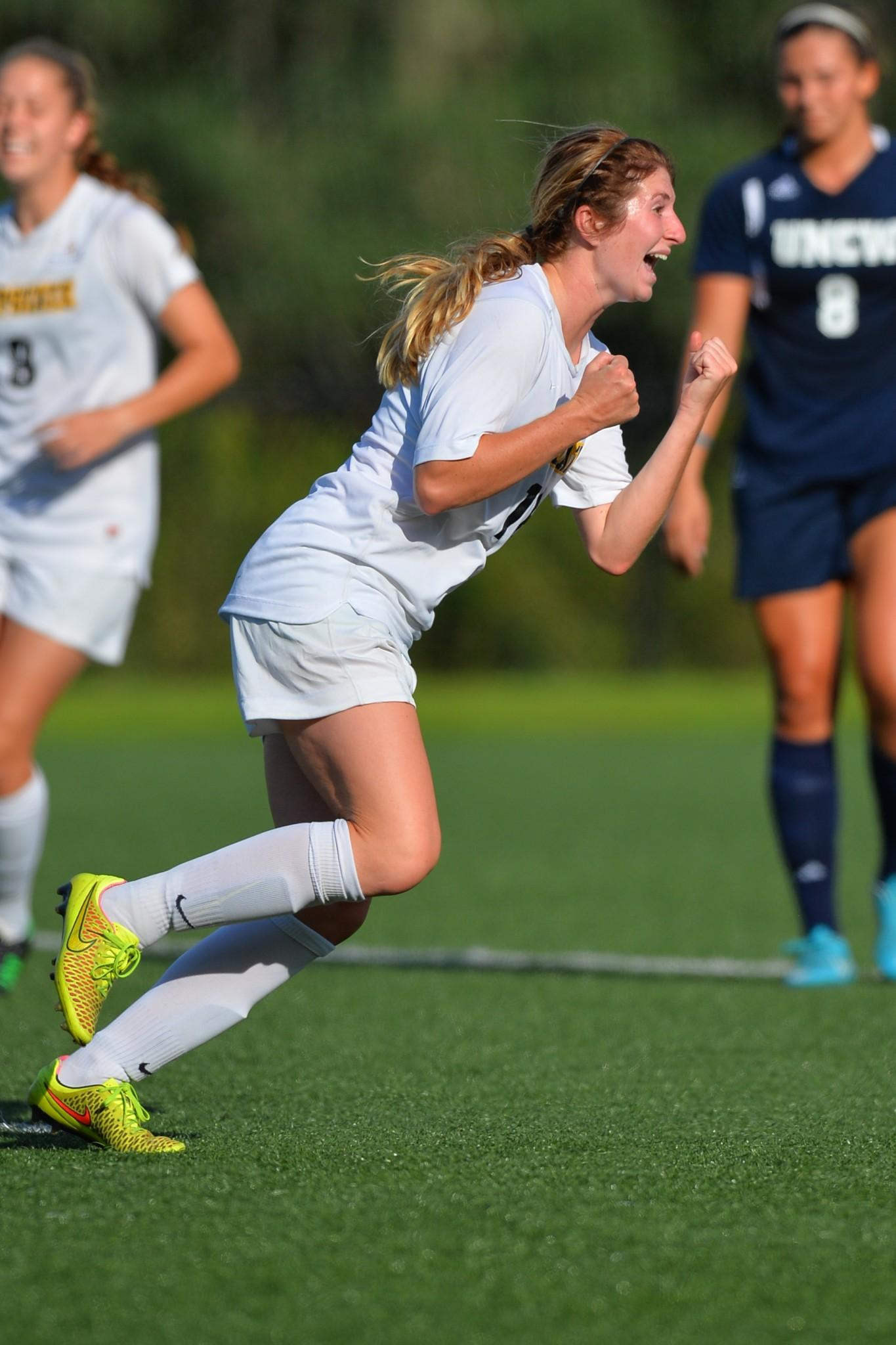 Merlin+Beckwith+celebrates+game+winning+penalty+kick.+Appalachian+State+came+back+from+a+two-goal+deficit+to+win+3-2.+Photo+Courtesy+%7C+Tim+Cowie%2FTim+Cowie+Photography