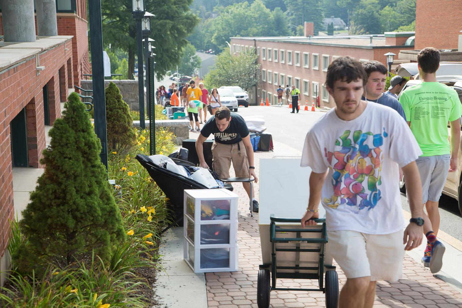In Photos: Move-in Day