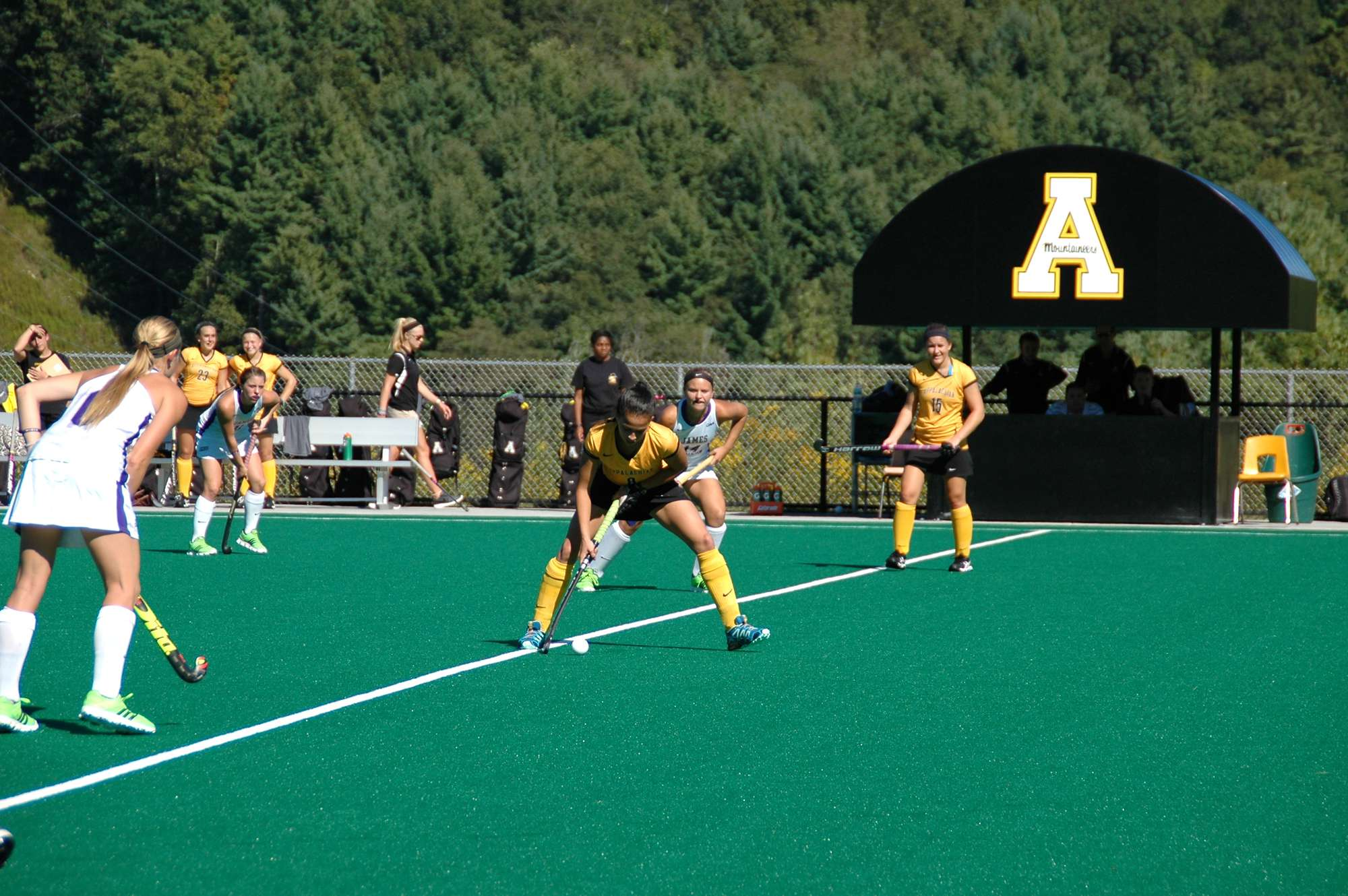 Field hockey captures first home win