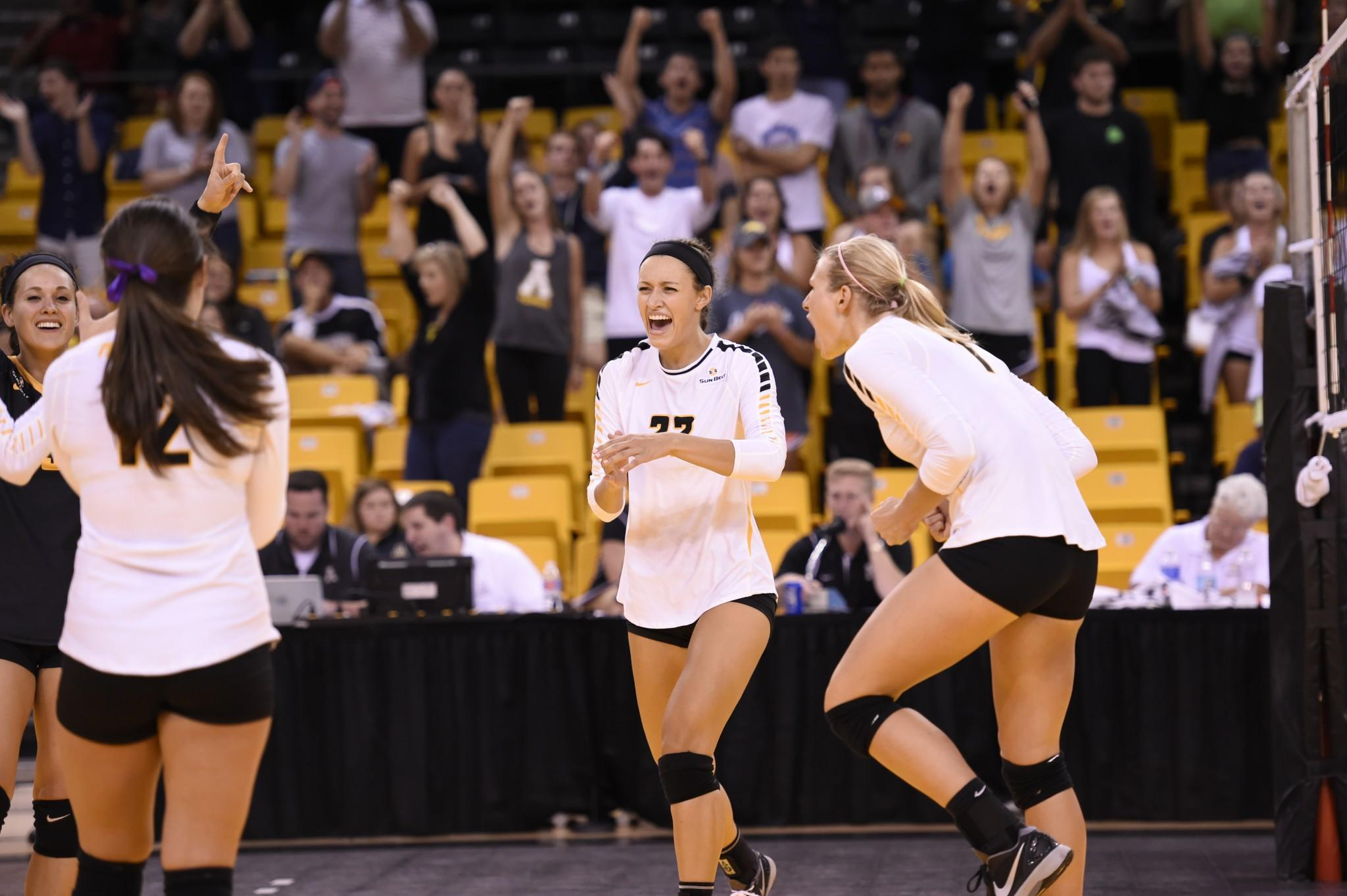 App State volleyball strong throughout invitational