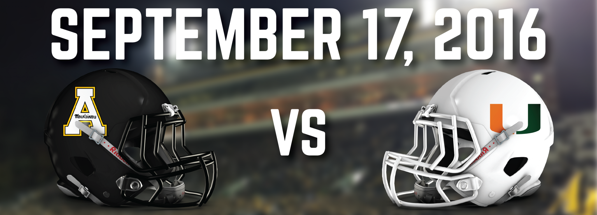 Confirmed: Miami Hurricanes will play App State in 2016