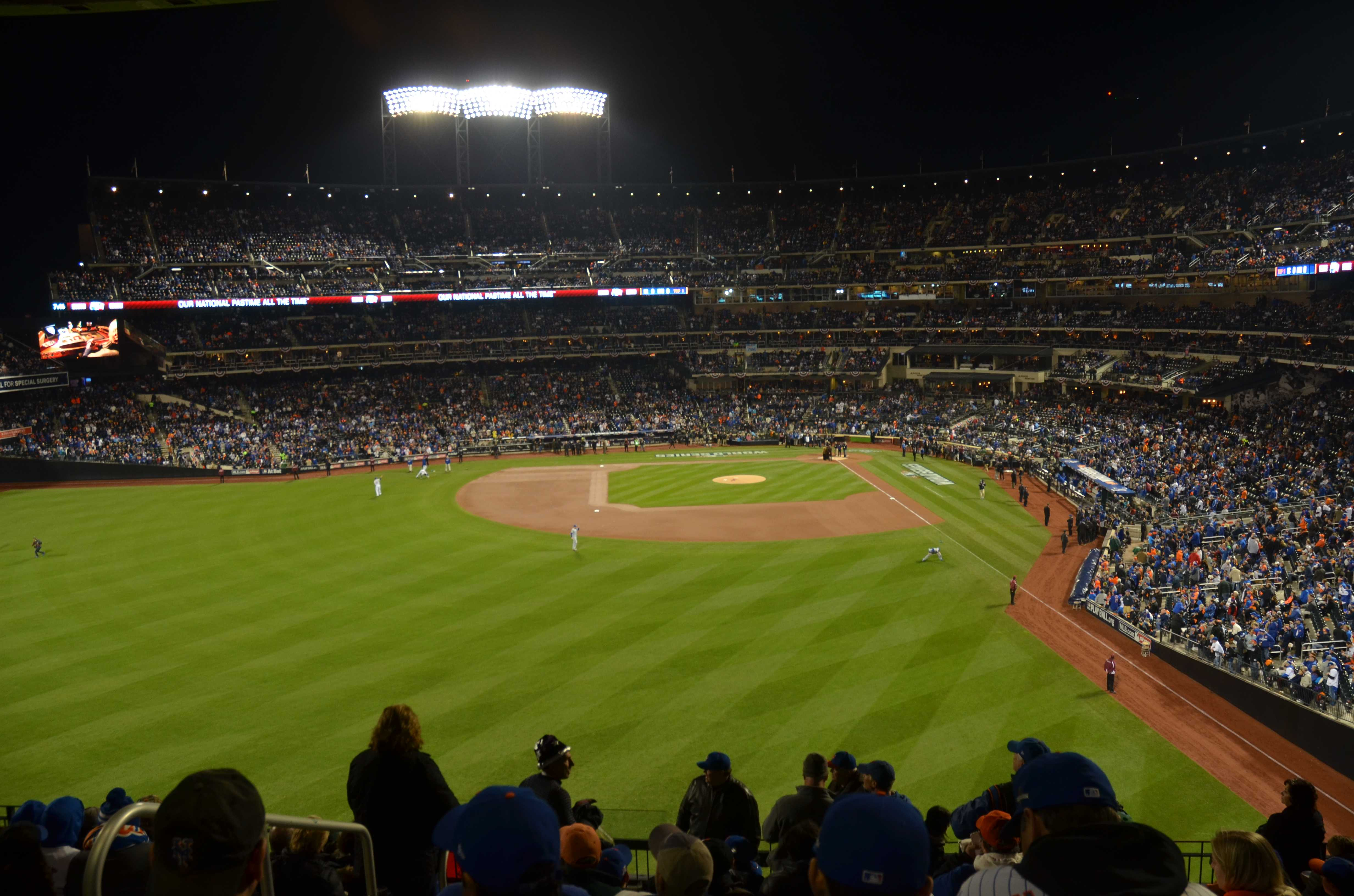 Living in the moment of the World Series