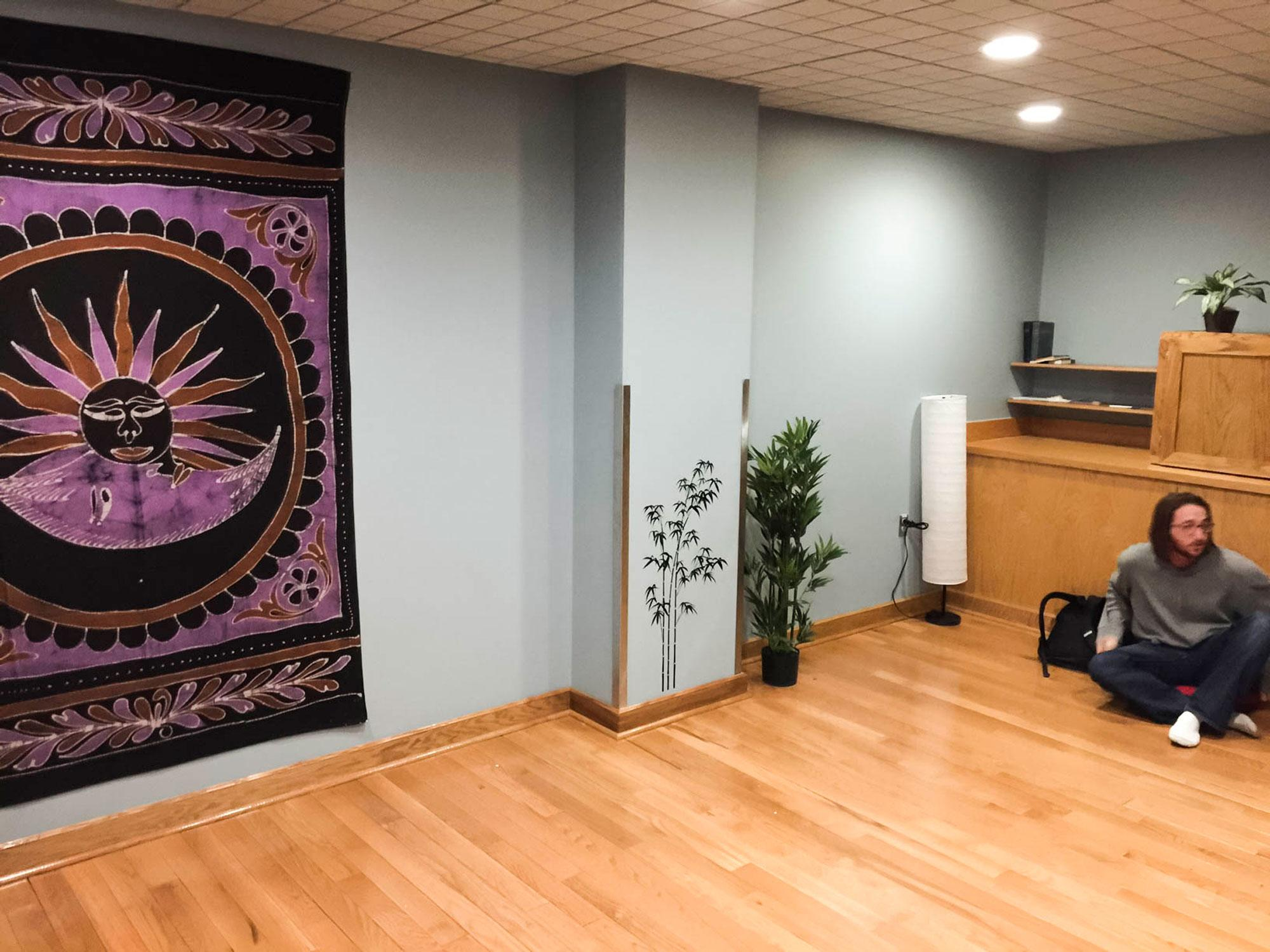 Meditation room gets remodeled