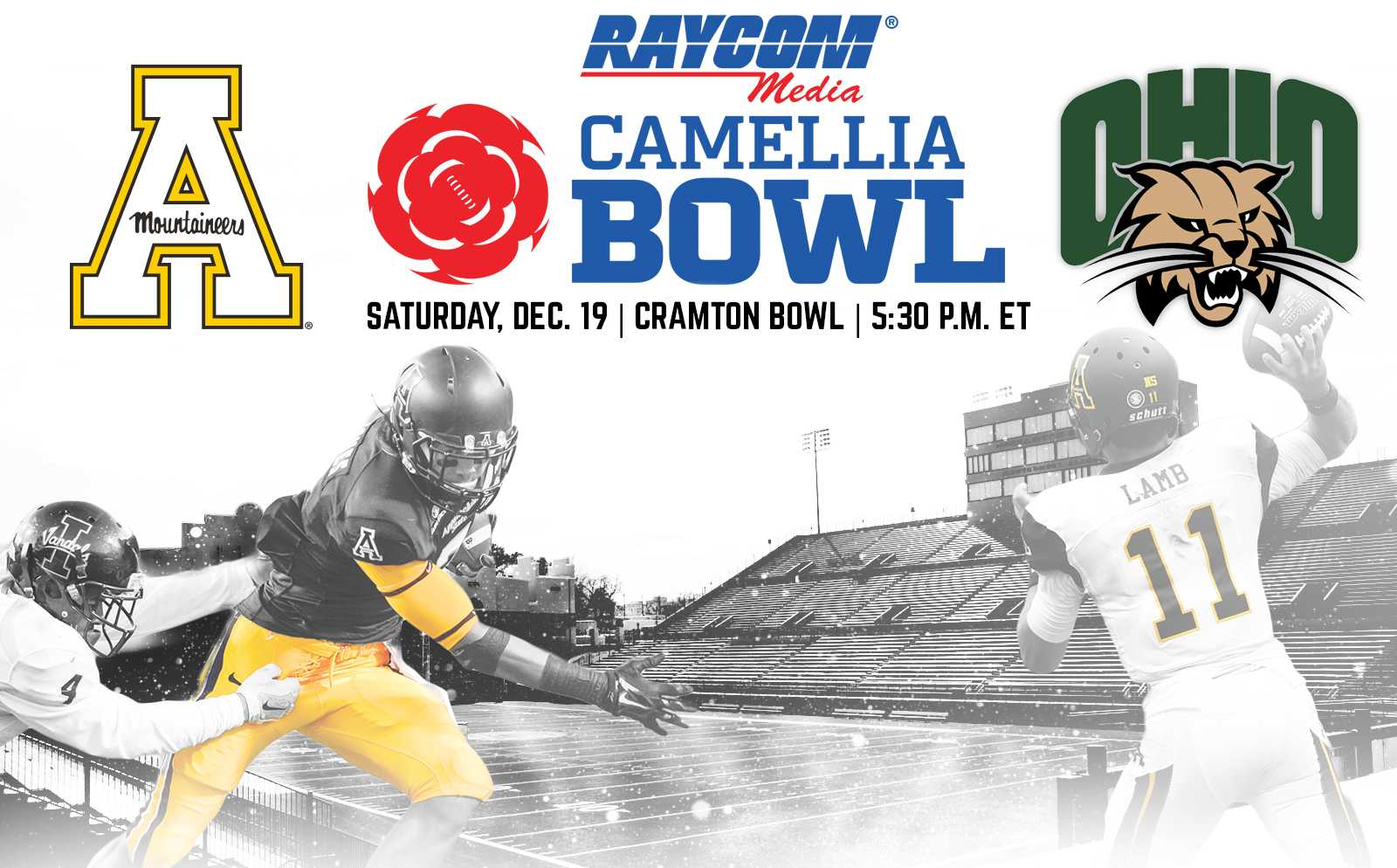 App State to play Ohio in the Camellia Bowl
