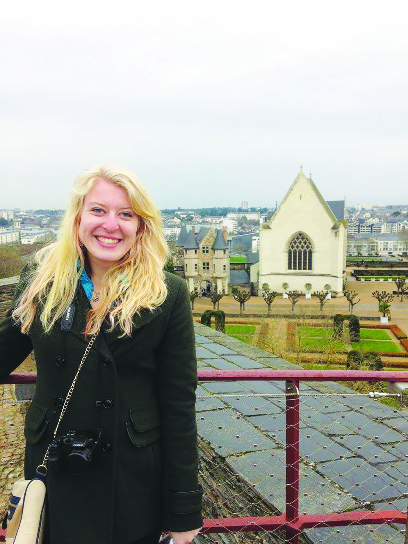 Katelyn Byng spent the last semester primarily in France where she had the chance to work on completing her French minor.