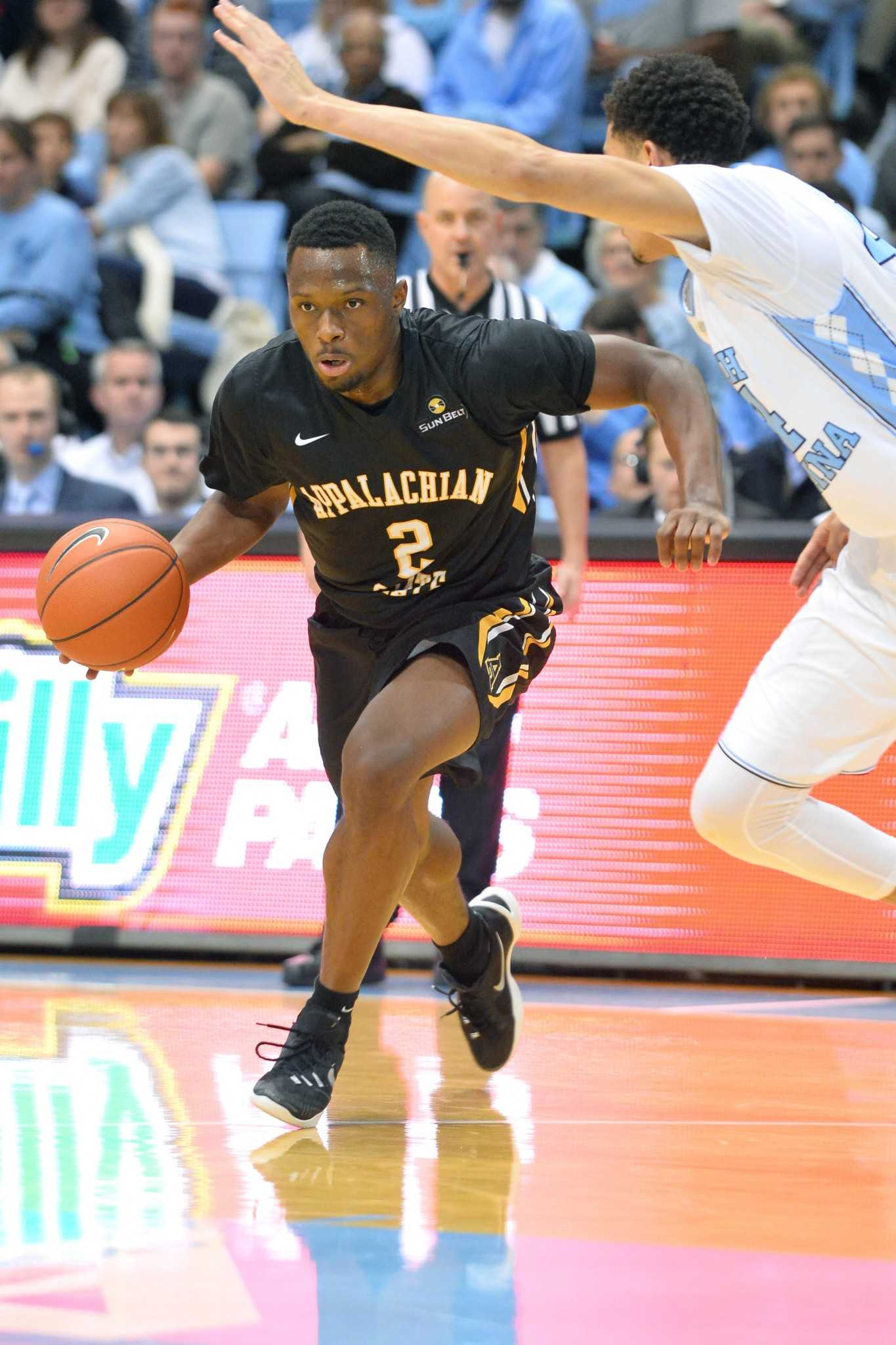Appalachian State at 7/7 North Carolina in men's non-conference basketball action at Dean E. Smith Center on Monday, December 21, 2015 in Chapel Hill, North Carolina.  Carolina defeats the Mountaineers 94-70.