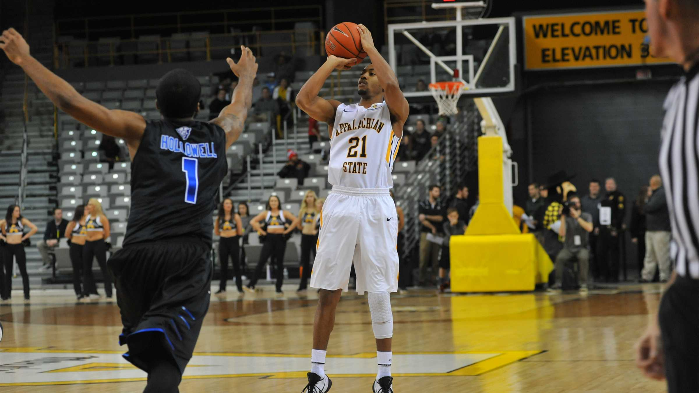 App State Pounces on Panthers, Wins 76-67