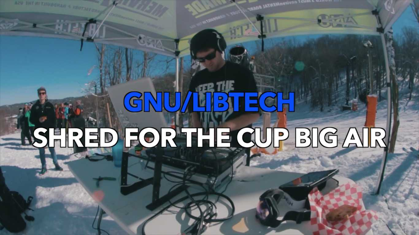 GNU:Libtech Shred for the Cup Big Air