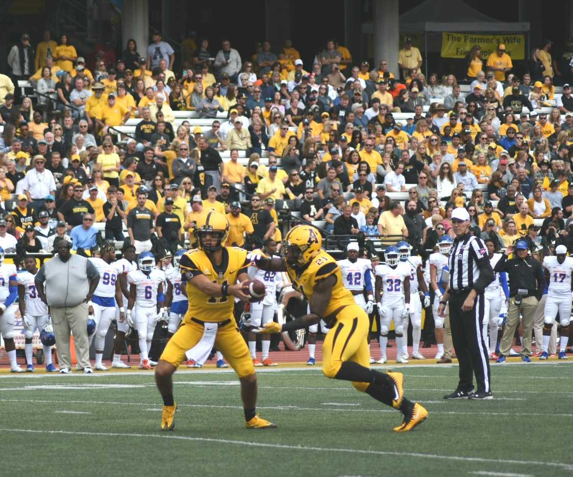 App's Dominating Offense Downs the Tigers