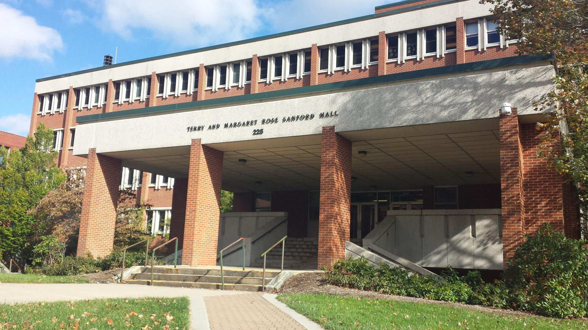 Renovating App: Solidifying the next steps for Sanford Hall