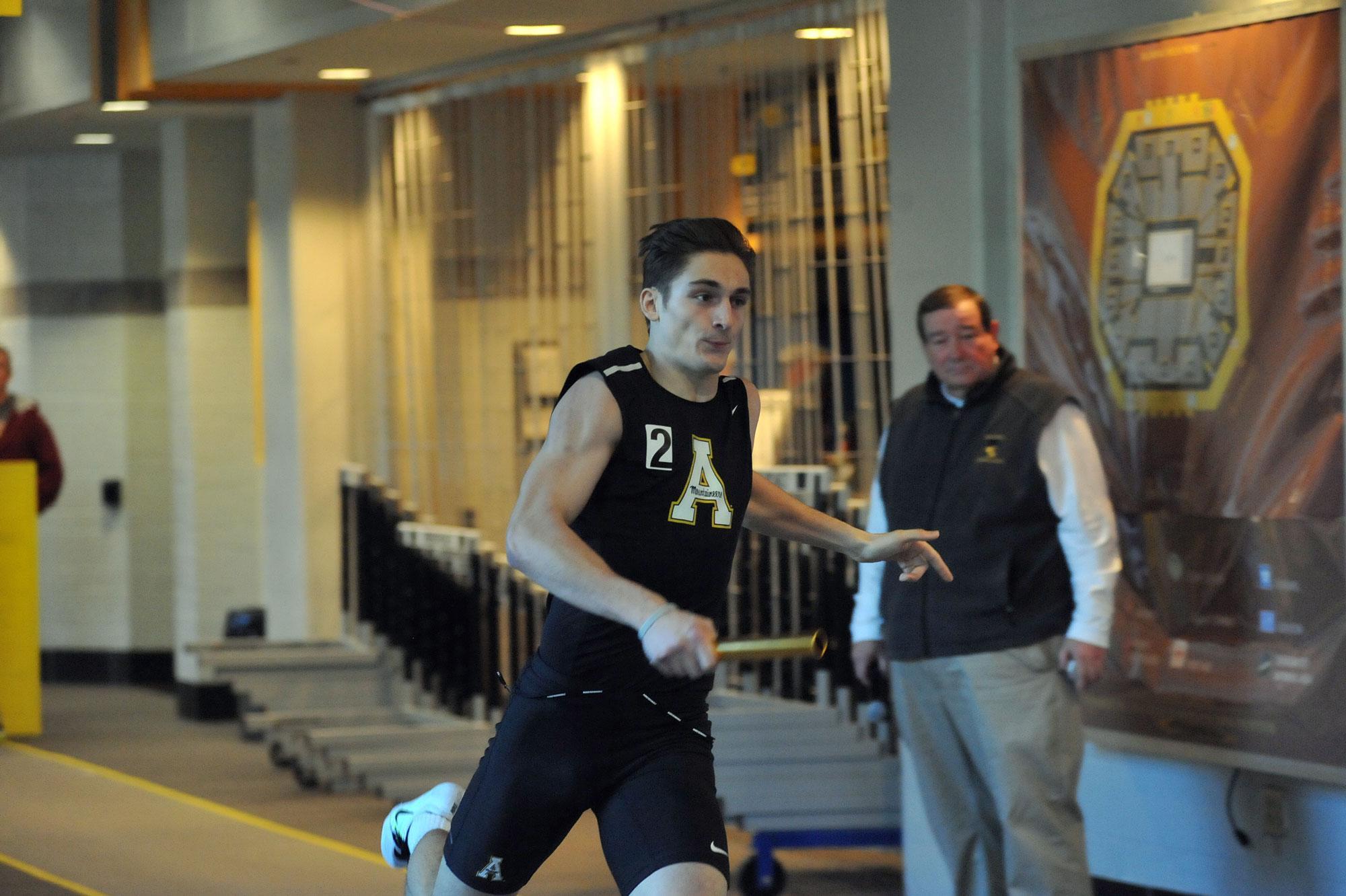 Andrew Spear. Photo courtesy Dave Mayo/App State Athletics.