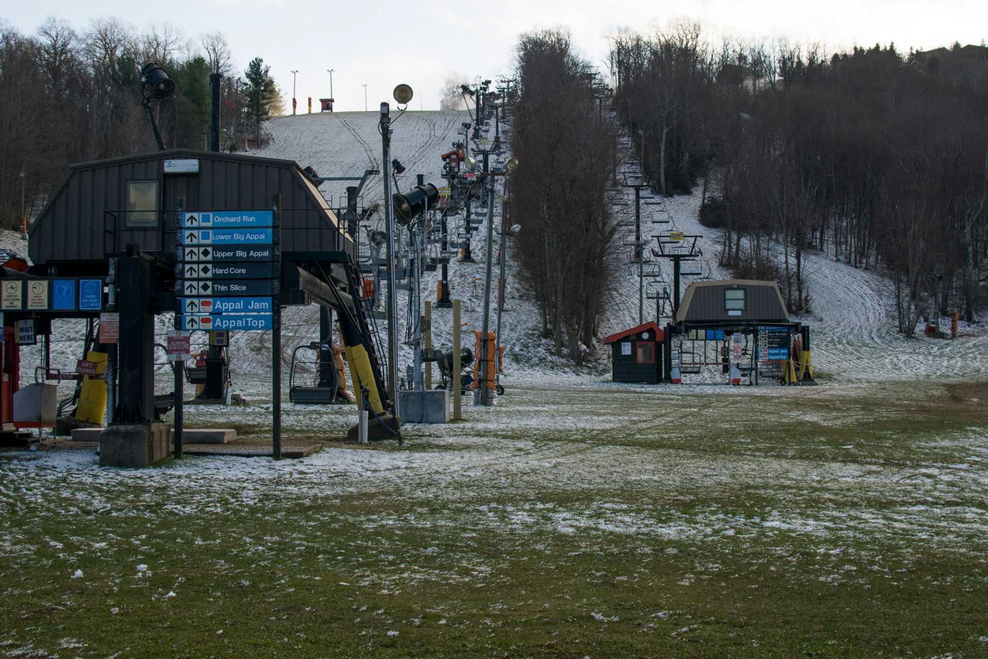 Appalachian Ski Mountain waits to open for winter